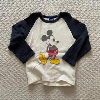 Disney - ライトオン mickey ラグランTシャツ ロンT トレーナー