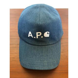 A.P.C - 【新品】A.P.C デニムキャップ CARHARTT