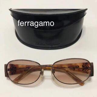 サルヴァトーレフェラガモ(Salvatore Ferragamo)の美品 フェラガモ サングラス 【 ferragamo 】(サングラス/メガネ)