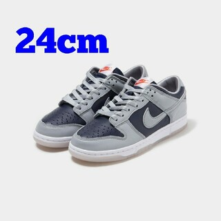 NIKE - 24cm NIKE WMNS DUNK LOW COLLEGE NAVY