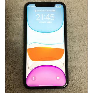 Apple - iPhone11 SIMフリー 64GB バッテリー95% 極美品 ブラック
