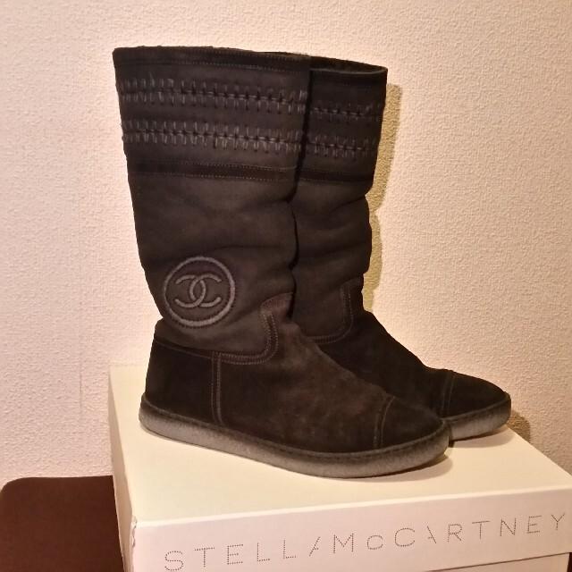 CHANEL(シャネル)の綺麗、ブーツ レディースの靴/シューズ(ブーツ)の商品写真