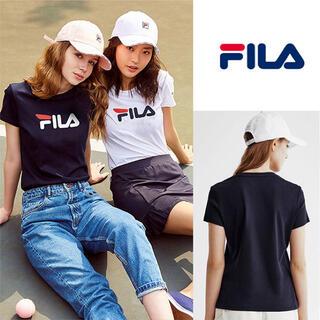 FILA - レディース半袖Tシャツ黒M