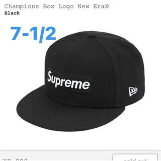 Supreme - SUPREME Champion Box Logo New Era 7-1/2