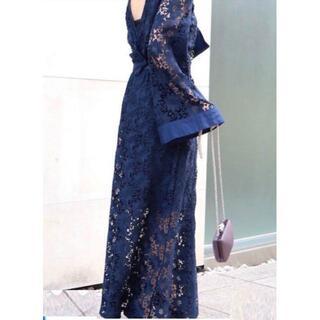 ドゥロワー(Drawer)のMYLAN レース ドレス ワンピース 定価7万2000円(ロングワンピース/マキシワンピース)