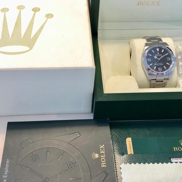 ROLEX(ロレックス)の☆最終値下げ☆ロレックス ☆美品☆エクスプローラ 214270 ブラックアウト メンズの時計(腕時計(アナログ))の商品写真