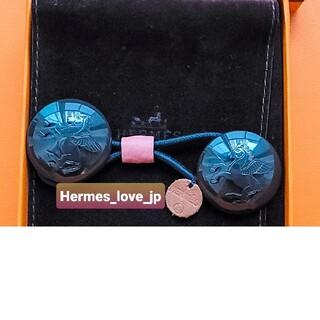 エルメス(Hermes)の新品☆エルメスプティアッシュH ヘアアクセサリー(ヘアゴム/シュシュ)