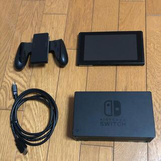 Nintendo Switch - Nintendo switch  グレー 動作確認済み ニンテンドースイッチ