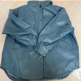 グレイル(GRL)のGRLレザーシャツジャケット Mサイズ(レザージャケット)