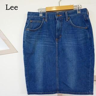 リー(Lee)のLee デニム タイトスカート ブルー Mサイズ 4805232(ひざ丈スカート)
