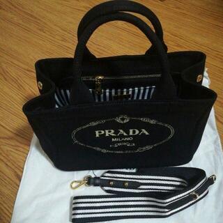 PRADA - PRADA プラダ カナパ トートバッグ 未使用状態に近い