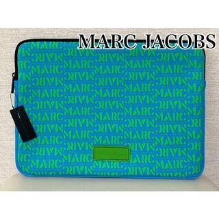 マークバイマークジェイコブス(MARC BY MARC JACOBS)のMARC BY MARC JACOBS ☆新品未使用 PC ケース ライトブルー(クラッチバッグ)