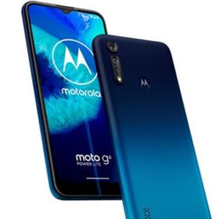 モトローラ(Motorola)のモトローラ moto g8 power lite メモリ4GB/ロイヤルブルー(スマートフォン本体)