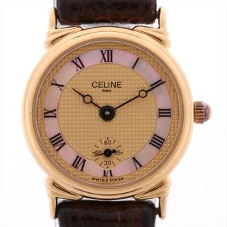 celine - セリーヌ  GP×社外革   ユニセックス 腕時計