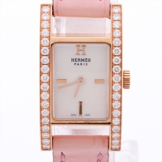 Hermes - エルメス アルコル 750×革   レディース 腕時計
