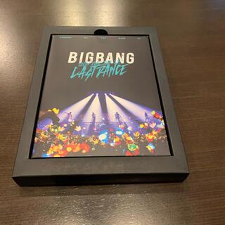 ビッグバン(BIGBANG)のBIGBAN DVD 初回限定版 ラストダンス ポーチ付き(ミュージック)