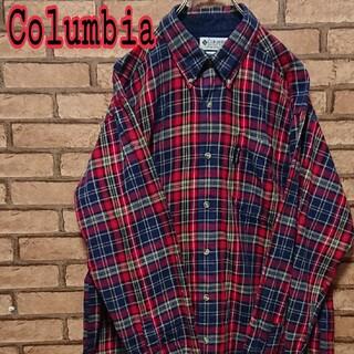 Columbia - Columbia コロンビア メンズ チェック オーバーサイズ シャツ