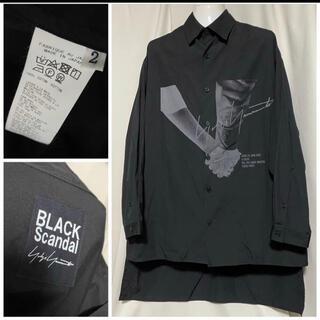 Yohji Yamamoto - 20SS BLACK Scandal Yohji Yamamoto シャツ 2