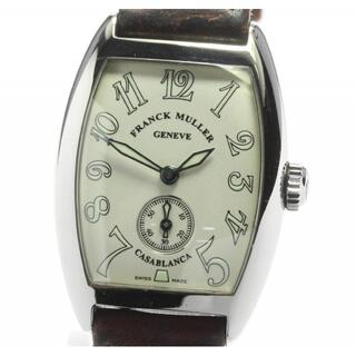 フランクミュラー(FRANCK MULLER)のフランクミュラー カサブランカ 1750S6 レディース 【中古】(腕時計)
