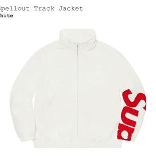 Supreme - supreme spellout track jacket Mサイズ