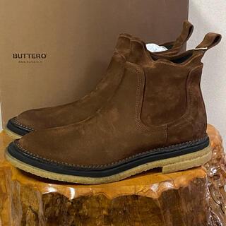 ブッテロ(BUTTERO)のBUTTERO ブッテロ サイドゴア ブーツ 45 30cm ブラウン(ブーツ)