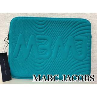 マークバイマークジェイコブス(MARC BY MARC JACOBS)のMARC BY MARC JACOBS ☆新品未使用 PC ケース ターコイズ(クラッチバッグ)