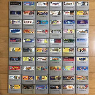 スーパーファミコン(スーパーファミコン)のスーパーファミコン引退出品 SFC95本 FC25本 HDMIスーファミ本体(家庭用ゲームソフト)
