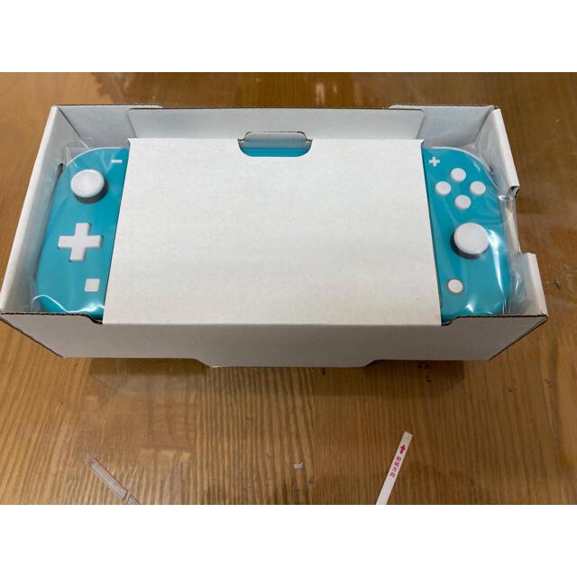 Nintendo Switch(ニンテンドースイッチ)の任天堂スイッチライト ターコイズブルー Nintendo Switch Lite エンタメ/ホビーのゲームソフト/ゲーム機本体(携帯用ゲーム機本体)の商品写真