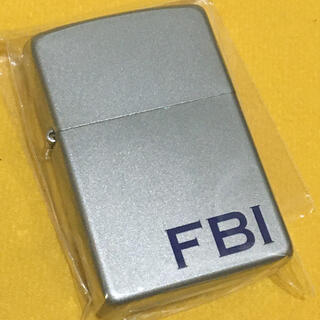 ジッポー(ZIPPO)のZIPPO FBI 連邦捜査局 シルバーマット 良品(タバコグッズ)