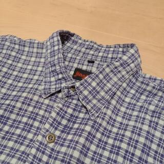 サンタモニカ(Santa Monica)の70s 80s ヴィンテージ プリントコーデュロイ シャツ 90s old(シャツ)