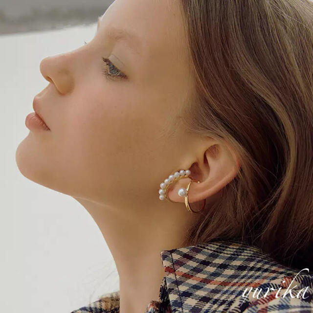 agete(アガット)のEar cuff ♡♡♡ imitation pearl  レディースのアクセサリー(イヤーカフ)の商品写真