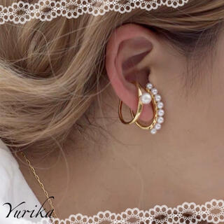 agete - Ear cuff ♡♡♡ imitation pearl