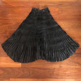 ISSEY MIYAKE - ISSEY MIYAKE プリーツスカート
