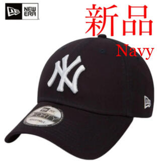 NEW ERA - 新品 New Era NY ニューエラ ヤンキース キャップ ネイビー