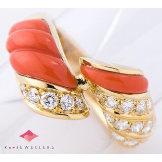 ピキョッティ 桃色 珊瑚(サンゴ)   リング・指輪(キーホルダー)