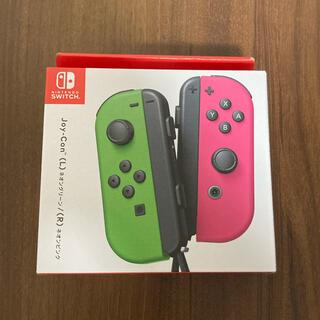 ニンテンドースイッチ(Nintendo Switch)のnintendo switch コントローラ ジョイコン  joy con 新品(家庭用ゲーム機本体)