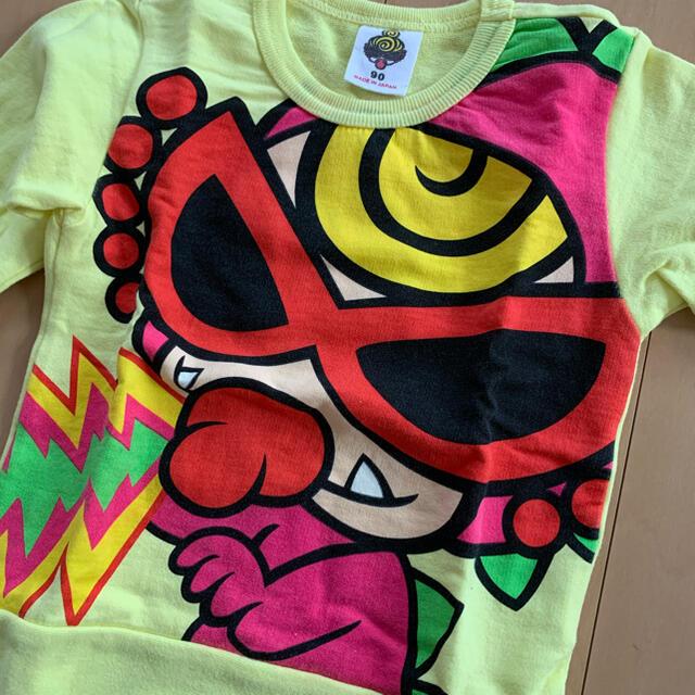 HYSTERIC MINI(ヒステリックミニ)のヒスミニ / トレーナー / 90 キッズ/ベビー/マタニティのキッズ服男の子用(90cm~)(Tシャツ/カットソー)の商品写真