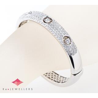 ダミアーニ(Damiani)のダミアーニ バングル ホール パヴェ  ダイヤモンド  ブレスレット(リング(指輪))