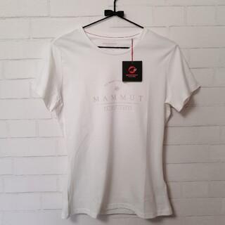 マムート(Mammut)の【新品・訳あり】Mammut Ws Seile Tシャツ アジアM オフホワイト(登山用品)