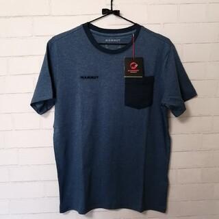マムート(Mammut)の【新品】Mammut O T-Shirt Men アジアM ブルーグレー(登山用品)