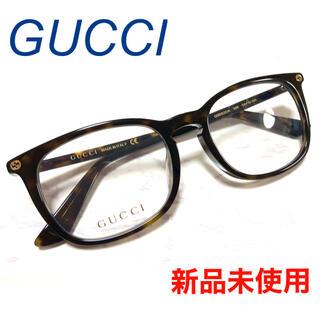 Gucci - ✴︎新品✴︎ ☆大人気★ GUCCI グッチ メガネ ウェリントン ダークハバナ