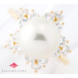 ポンテヴェキオ(PonteVecchio)のポンテヴェキオ 9.3mm アコヤ真珠   リング・指輪(チャーム)