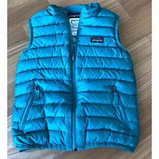 patagonia - patagonia キッズ ダウンベスト(4T)