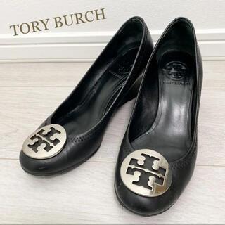 Tory Burch - トリーバーチ 23.0〜23.5 ブラック パンプス