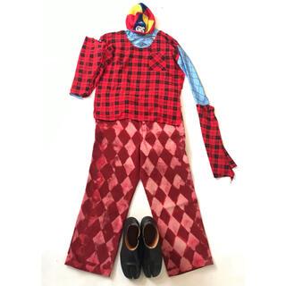 """ヴィヴィアンウエストウッド(Vivienne Westwood)のGETEMONTS """"愚者の服"""" アルルカンシャツのコーデです(セット/コーデ)"""