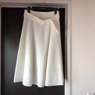 FOXEY - 【美品】フォクシー DM掲載スカート ホワイト 38