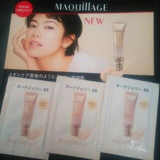 マキアージュ(MAQuillAGE)のマキアージュ❣️マスクにつきにくい❣️新発売ヌードジェリー BB(CCクリーム)