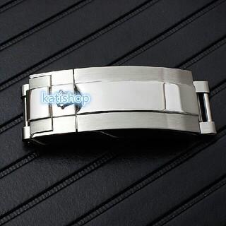 ☆  新品 微調 社外ベルト 汎用 ロレックス  Dバックル シル20mm 工具