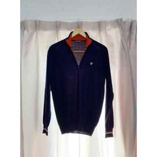 ジョンスメドレー(JOHN SMEDLEY)のJOHN SMEDLEY ジョンスメドレー ハーフジップ 薄手セーター(ニット/セーター)