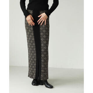 TODAYFUL - トゥデイフル Jacquard Pencil Skirt
